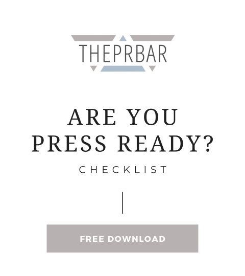 Are You Ready For Press Checklist – Jump Into 2021 Summit