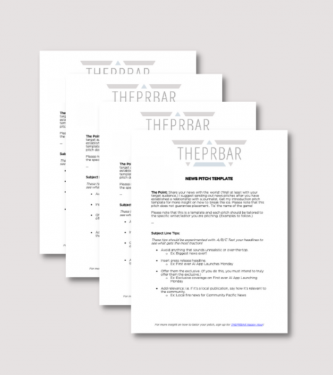 Pitch Pack – Pitch Templates